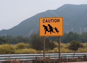 immigrant crossing